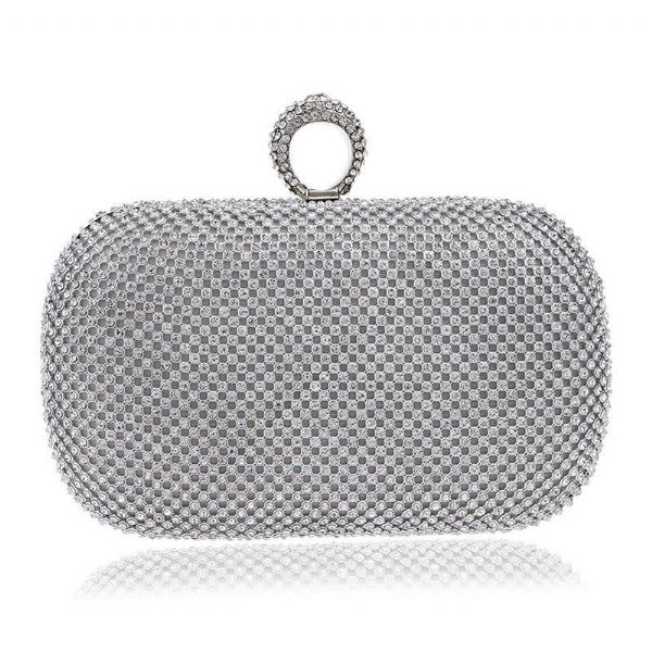 Handbag Luxury Diamonte Clutch Women's Evening Bags Ladies Fashion Bag  Zabardo